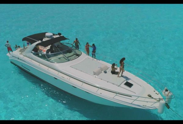 55-ft sea ray cancun yacht