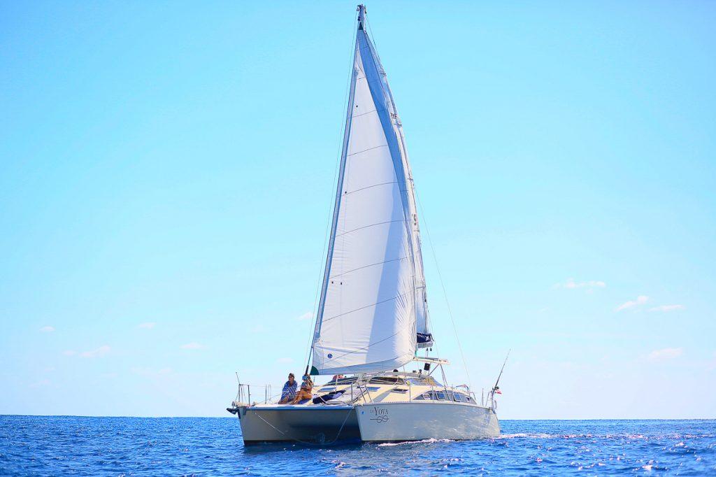 luxury catamaran playa del carmen