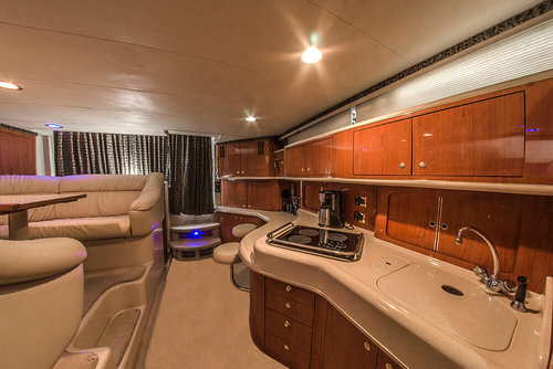 sea ray luxury yacht